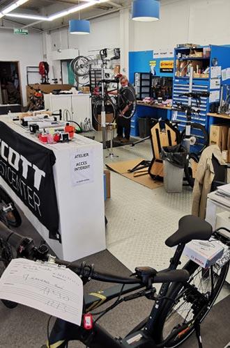 Le magasin vélos Le Guidon Niortais 2