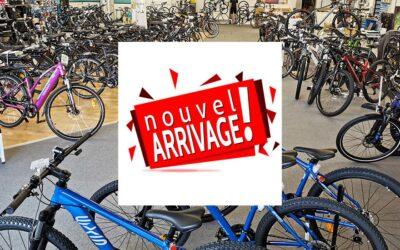 Arrivage de vélos ce vendredi 16 avril