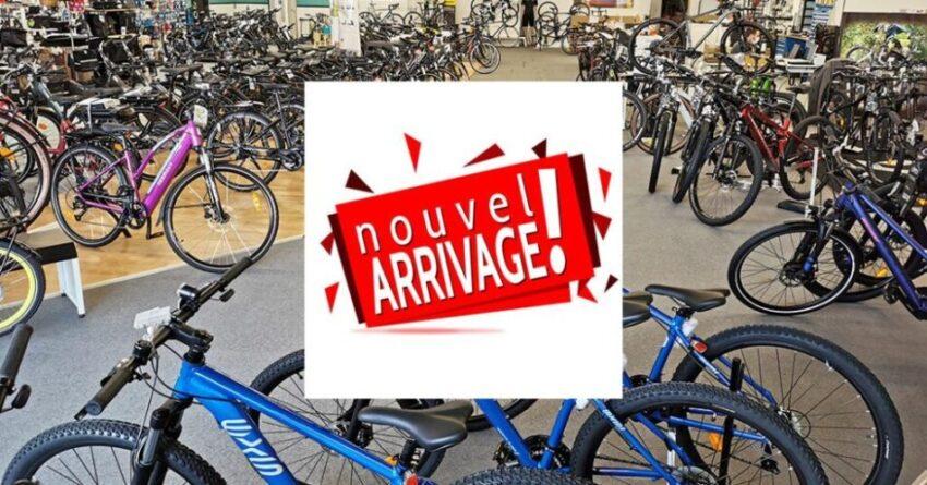 Arrivage de nouveaux vélos au Guidon Niortais