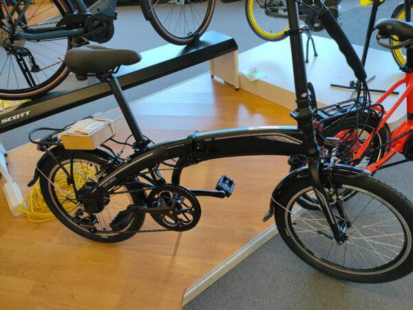 vélo TORPADO VAE pliable