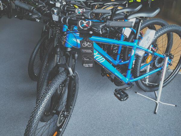 vélo VTT EXS