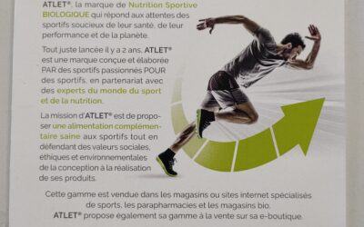ATLET – PRODUITS DIETETIQUES                  100% made in France