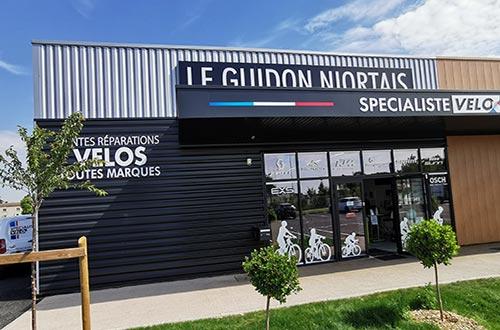 Le magasin Le Guidon Niortais
