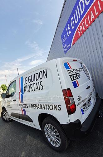 Le magasin Le Guidon Niortais 2